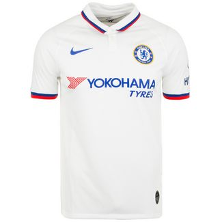 Nike FC Chelsea Stadium 19/20 Auswärts Fußballtrikot Herren weiß / blau