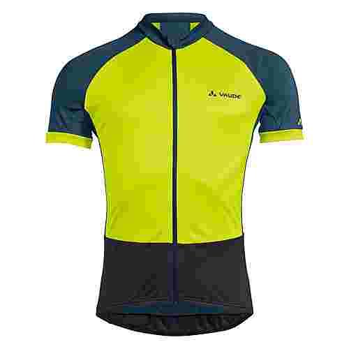 VAUDE Men's Advanced FZ Tricot Fahrradtrikot Herren bright green