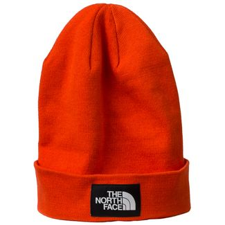 The North Face Dock Worker Recycled Beanie Beanie Herren rot / schwarz