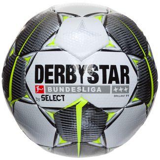 Derbystar Bundesliga Brillant TT Fußball weiß / schwarz