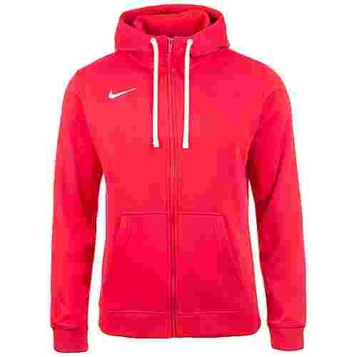 Nike Full Zip FLC Club19 Trainingsjacke Herren rot / weiß