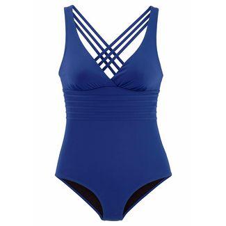 Lascana Badeanzug Damen blau