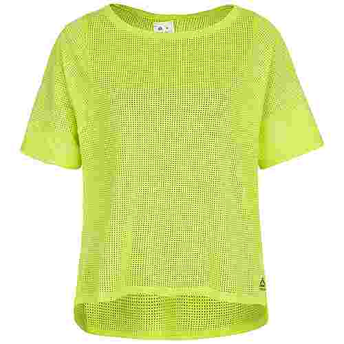 Reebok Perforated Funktionsshirt Damen hellgrün
