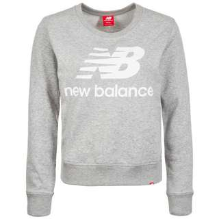 NEW BALANCE Essentials Crew Sweatshirt Herren hellgrau