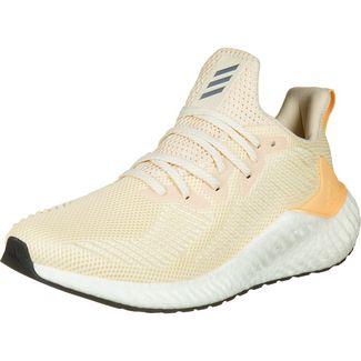 adidas Alphaboost Laufschuhe Damen beige / orange
