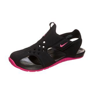 Nike Sunray Protect 2 Sandalen Kinder schwarz / pink