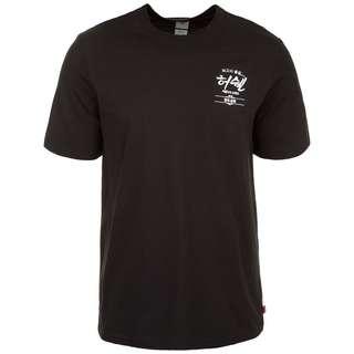 Herschel Tee T-Shirt Herren schwarz / creme