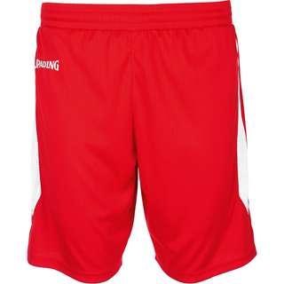 Spalding 4Her III Shorts Damen rot / weiß