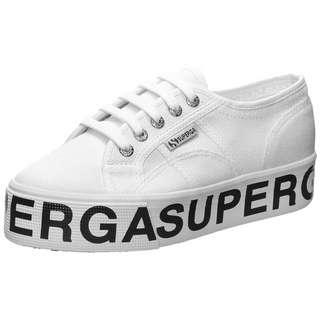 Superga 2790-Cotw Sneaker Damen weiß / schwarz