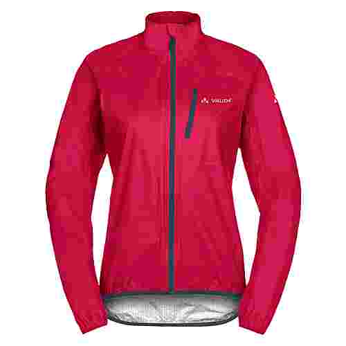 VAUDE Women's Drop Jacket III Fahrradjacke Damen cranberry