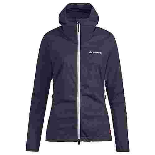 VAUDE Women's Croz Softshell Jacket Outdoorjacke Damen eclipse