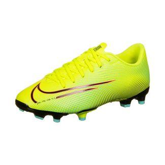 Nike Mercurial Vapor 13 Academy Fußballschuhe Kinder gelb / grün