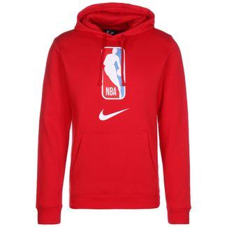 Nike NBA Hoodie Herren rot