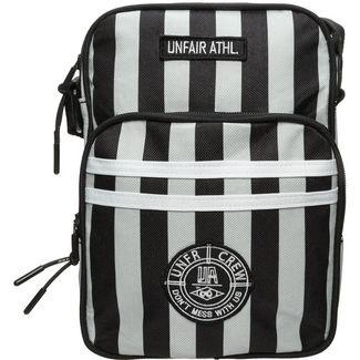 Unfair Athletics DMWU Striped Umhängetasche Herren hellgrau / schwarz