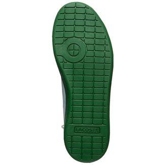 Lacoste Carnaby Evo 319 Sneaker Kinder weiß / grün