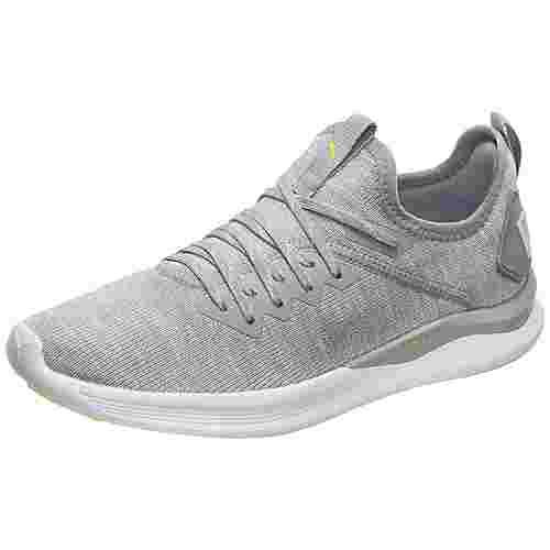 PUMA Ignite Flash evoKNIT Sneaker Damen grau / weiß