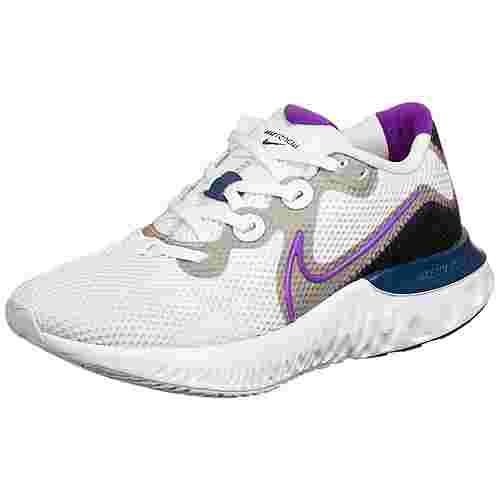 Nike Renew Run Laufschuhe Damen blau / schwarz