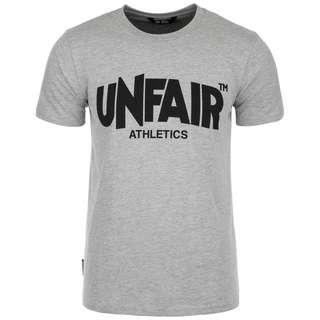 Unfair Athletics Classic Label '19 T-Shirt Herren hellgrau / schwarz