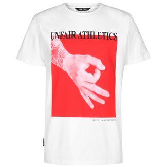 Unfair Athletics Fooled T-Shirt Herren weiß / rot