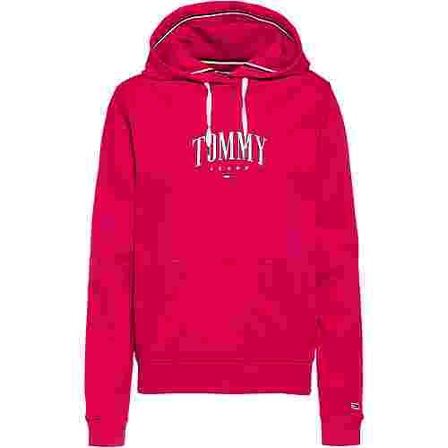 Tommy Hilfiger Essential Logo Hoodie Damen blush red