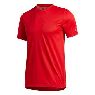 adidas HEAT.RDY 3-Streifen T-Shirt T-Shirt Herren Rot