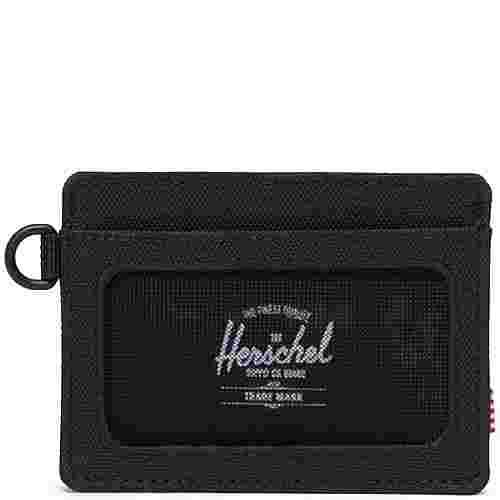 Herschel Charlie Geldbeutel schwarz
