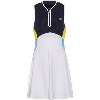 Lacoste Tenniskleid Damen blanc-marine-haiti-citron