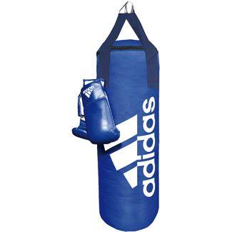 adidas Boxsack blau-weiß