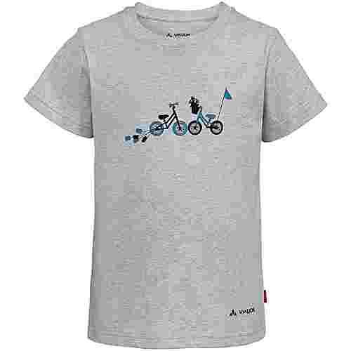 VAUDE Lezza T-Shirt Kinder grey-melange
