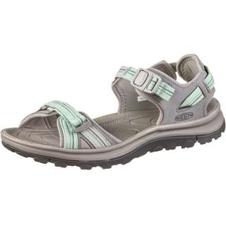Keen Terradora II Outdoorsandalen Damen light grey-ocean wave
