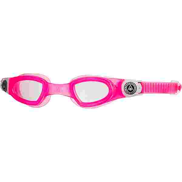 phelps Moby Kid Schwimmbrille Kinder clear lens-pink white