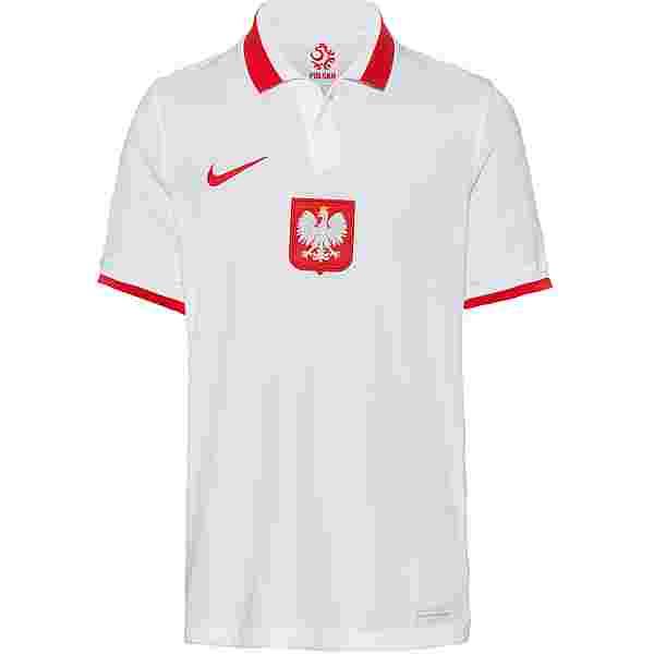 Nike Polen 2021 Heim Trikot Kinder white-sport red