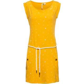 Ragwear Tag A Organic Jerseykleid Damen yellow