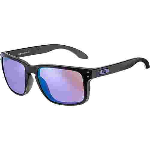 Oakley HOLBROOK XL Sonnenbrille matte black;prizm violet