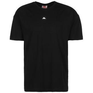 KAPPA Gelleg T-Shirt Herren schwarz / weiß