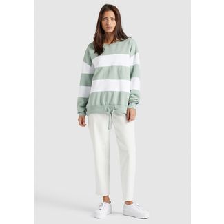Khujo NECHANA Sweatshirt Damen JA9 WASHED CLOUD COMBO