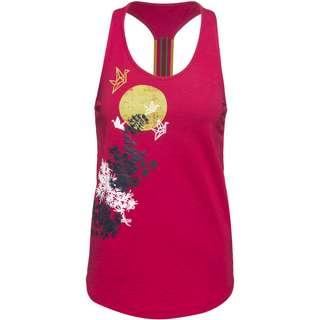 Red Chili Gamba Klettershirt Damen cherry