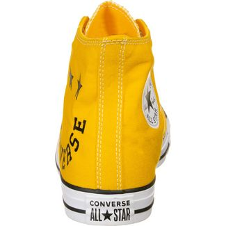 CONVERSE Chuck Taylor All Star Smile Sneaker Herren gelb / schwarz