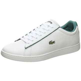 Lacoste Carnaby Evo Sneaker Herren weiß / grün