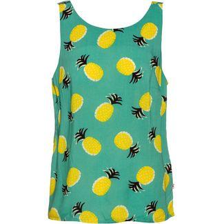 Blutsgeschwister Rückenfein Tanktop Damen pineapple party