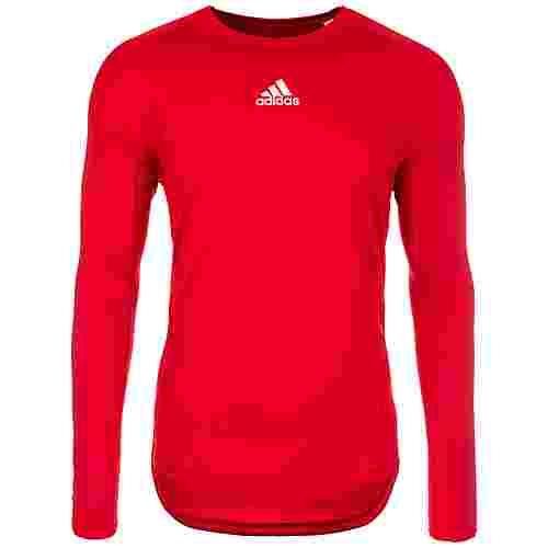 adidas AlphaSkin Sport Funktionsshirt Herren rot