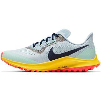 Nike Air Zoom Pegasus 36 Trail Laufschuhe Damen aura-blackened blue-lt armory blue