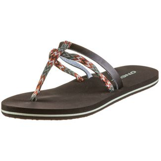 O'NEILL FW VENICE DITSY SANDALS Zehentrenner Damen black out