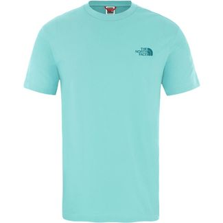 The North Face Simple Dome T-Shirt Herren lagoon