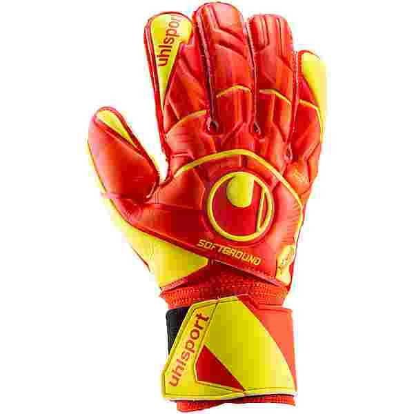 Uhlsport Dynamic Impuls Soft Flex Frame Torwarthandschuhe Kinder dynamic orange-fluo gelb