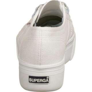Superga 2790-COTW Contrast Sneaker Damen weiß / hellblau