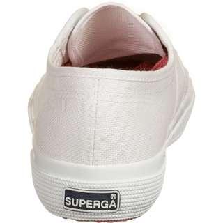 Superga 2750-COT Contrastu Sneaker Damen weiß / korall