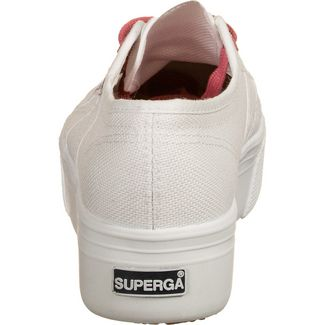 Superga 2790-COTW Contrast Sneaker Damen weiß / korall