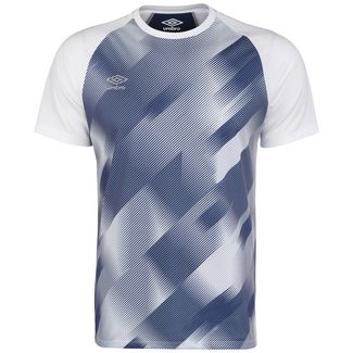 UMBRO Training Graphic Funktionsshirt Herren weiß / blau