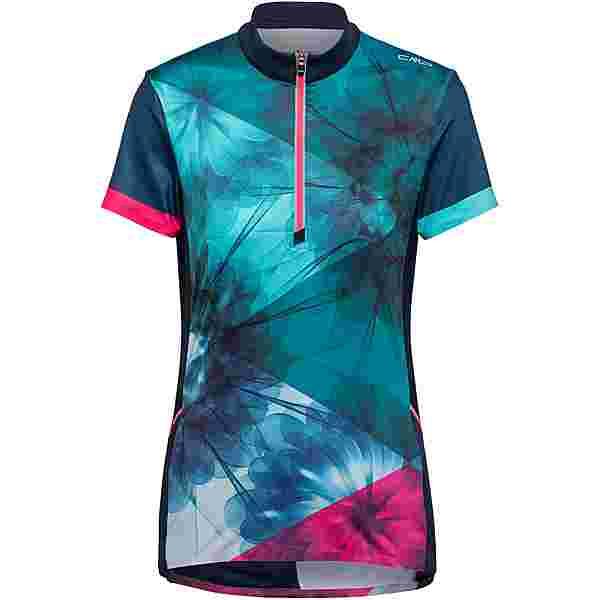 CMP Bike T-Shirt Trikot Damen blue